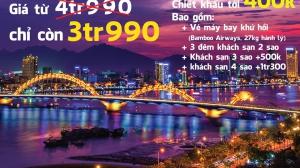 COMBO DU LỊCH HÀ NỘI - ĐÀ NẴNG HÈ 2019 - BAY BAMBOO AIRWAYS